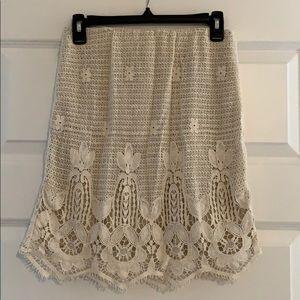 Wayf High Waisted Midi Skirt